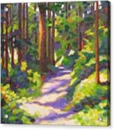 Morning On The Trail 3 Acrylic Print