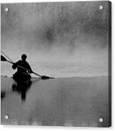 Morning Paddle Acrylic Print