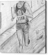 Morning Race Acrylic Print
