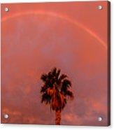 Morning Rainbow Acrylic Print