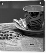 Morning Read Acrylic Print