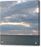 Morning Seascape  Acrylic Print