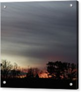 Morning Silhouette Acrylic Print