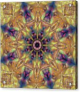 10300 Morning Sky Kaleidoscope 01a Acrylic Print