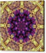 10301 Morning Sky Kaleidoscope 01b Acrylic Print