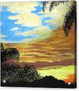 Morning Sky Acrylic Print by Frederic Kohli