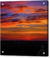 Morning Sky Over Washington D C Acrylic Print