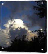 Morning Storm Approaching Acrylic Print