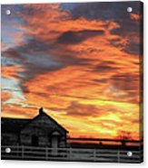 Morning Sunrise 2-14-2011 Acrylic Print