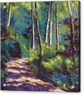 Morning Walk 3 Acrylic Print