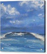Morning Waves, 9x12, Oil, '08 Acrylic Print