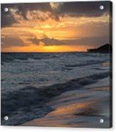 Mornings On The Beach  Acrylic Print
