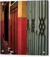 Moroccan Doors Ll Acrylic Print