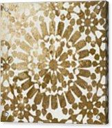 Moroccan Gold II Acrylic Print