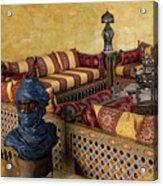 Moroccan Room Acrylic Print