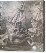 Morphological Echo At Sea Acrylic Print
