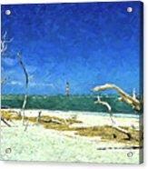 Morris Island Lighthouse 2 Acrylic Print