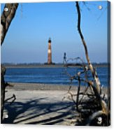 Morris Island Lighthouse Charleston Sc Acrylic Print