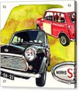 Morris Mini Cooper S Acrylic Print