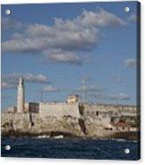 Morro Castle Havana Cuba Was Built Acrylic Print by Everett