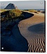 Morro Strand State Beach, California Acrylic Print