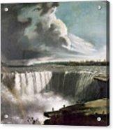 Morse: Niagara Falls, 1835 Acrylic Print