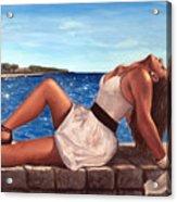 Morska Vila Acrylic Print