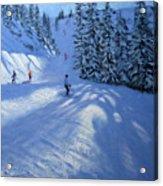 Morzine Ski Run Acrylic Print