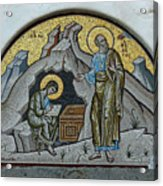 Mosaic At The Grotto Of St John Patmos Acrylic Print