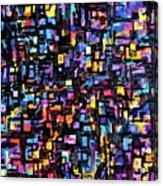 Mosaic  Acrylic Print