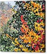 Mosaic Foliage Acrylic Print