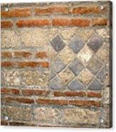 Mosaic From Pompeii Acrylic Print