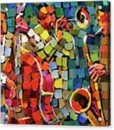 Mosaic Jazz Acrylic Print
