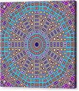 Mosaic Kaleidoscope  Acrylic Print