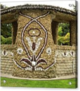 Mosaic Stone Bandstand In Anacortes Acrylic Print