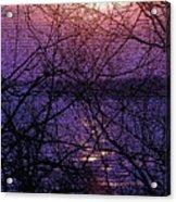 Mosaic Sunset Acrylic Print