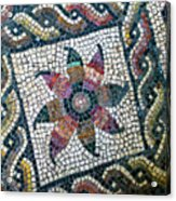Mosaico Pavimentale Acrylic Print