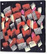 Mosaics Multicolor Acrylic Print