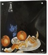 Moscato And Tangerines Acrylic Print