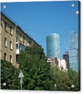 Moscow Business Centre Acrylic Print