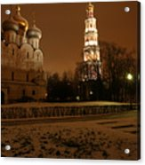 Moscow Cathedral Of Our Lady Of Smolensk Acrylic Print