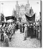 Moscow: Red Army, C1920 Acrylic Print