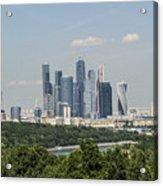 Moscow Skyline Acrylic Print
