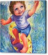Moshe Acrylic Print