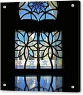 Mosque Foyer Window 2 Acrylic Print