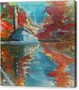 Mosquee Hassan II - Casablanca Acrylic Print