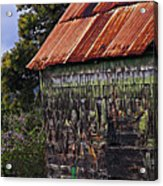 Moss Covered House-st Lucia Acrylic Print