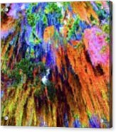 moss of Color Acrylic Print