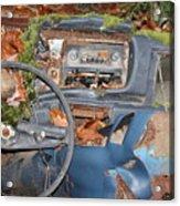 Mossy Datsun Acrylic Print