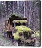 Mossy Truck Acrylic Print